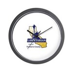 Lpvc Logo Wall Clock