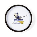 Lpvc Logo Wall Clock