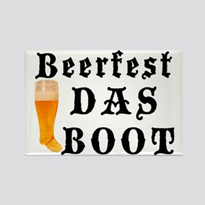 BeerFest Das Boot Rectangle Magnet