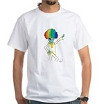 Disco Alien White T-Shirt