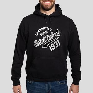 Guaranteed 100% Established 1931 Hoodie (dark)