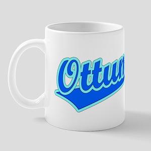 Retro Ottumwa (Blue) Mug