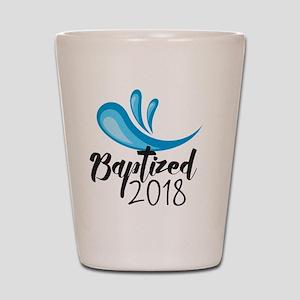 Baptized 2018 Shot Glass