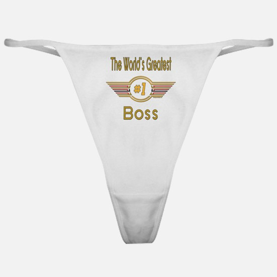 Number 1 Boss Classic Thong