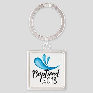 Baptized 2018 Keychains