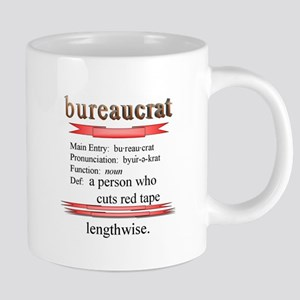 Bureaucracy Defined Mugs