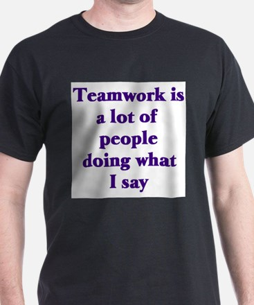 Teamwork Ash Grey T-Shirt