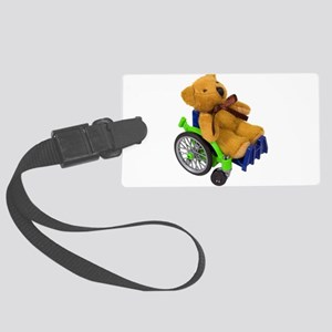 YouthWheelchair031910 Large Luggage Tag