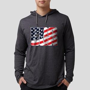 PRO GUN AMERICAN Mens Hooded Shirt
