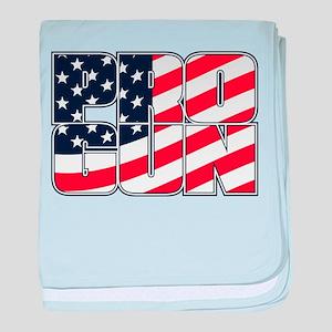 PRO GUN AMERICAN baby blanket