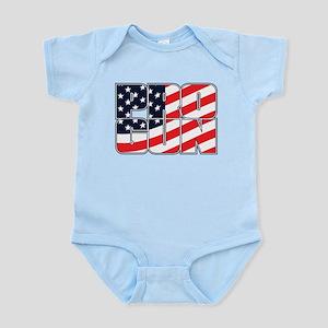 PRO GUN AMERICAN Baby Light Bodysuit