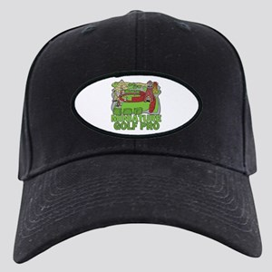 2799cab1317 Miniature Golf Black Cap With Patch - CafePress