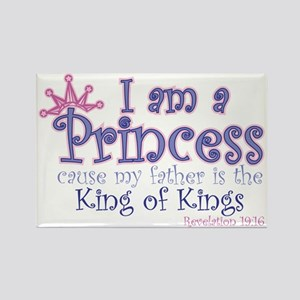 I am a Princess Rectangle Magnet