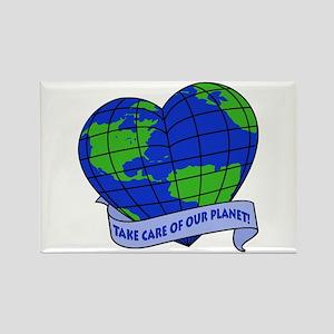 Earth Lover Rectangle Magnet