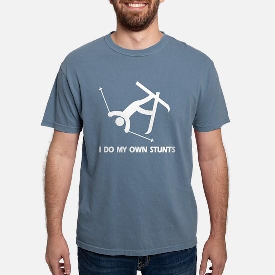 Snow Skiing Accident Stunts T-Shirt
