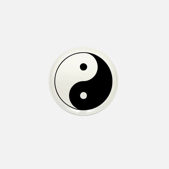 Yin Yang Mini Button