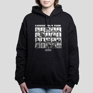 Avengers Infinity War Te Women's Hooded Sweatshirt