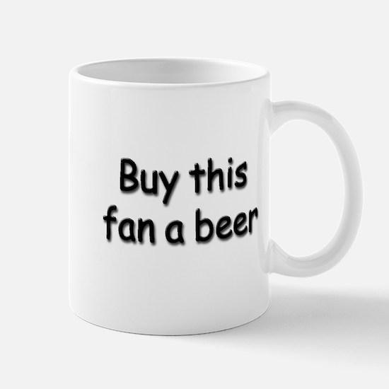 Buy this fan a beer Mug