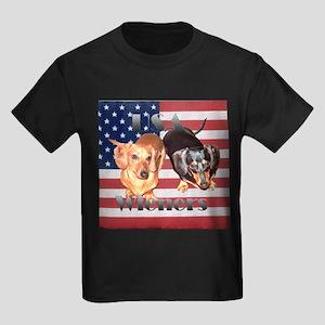 USA Wieners Kids Dark T-Shirt