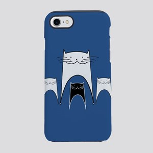 Smiling Cats iPhone 8/7 Tough Case