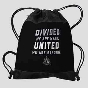 Newcastle United We Are Strong Drawstring Bag