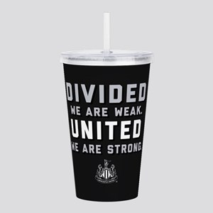 Newcastle United We Ar Acrylic Double-wall Tumbler