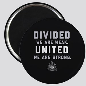 Newcastle United We Are Strong Magnet