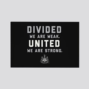 Newcastle United We Are Strong Rectangle Magnet
