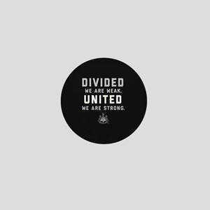 Newcastle United We Are Strong Mini Button