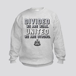 Newcastle United We Are Strong Kids Sweatshirt