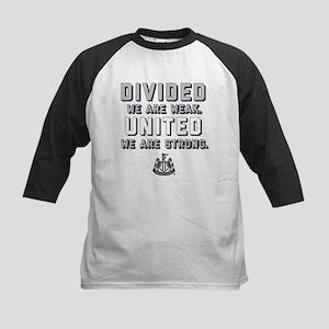 Newcastle United We Are Strong Kids Baseball Tee