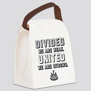 Newcastle United We Are Strong Canvas Lunch Bag