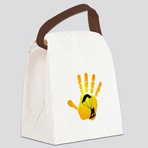 HANDS ON KITEBOARDING Canvas Lunch Bag