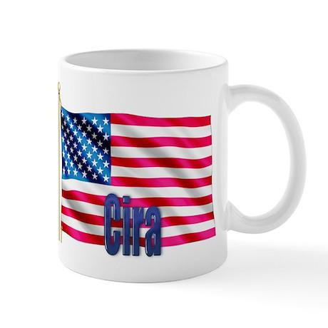 Cira Personalized USA Gift Mug