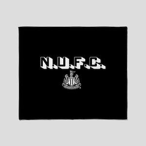 NUFC Newcastle United Throw Blanket