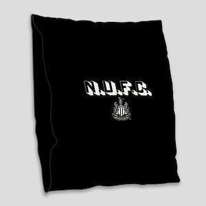 NUFC Newcastle United Burlap Throw Pillow