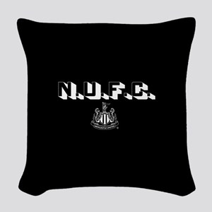 NUFC Newcastle United Woven Throw Pillow