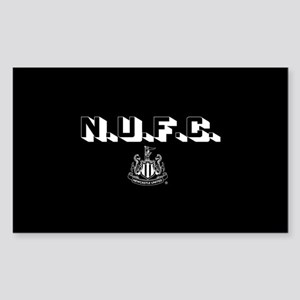 NUFC Newcastle United Sticker (Rectangle)