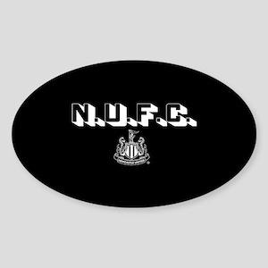 NUFC Newcastle United Sticker (Oval)