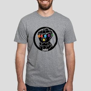 Avengers Infinity War Gaunt Mens Tri-blend T-Shirt