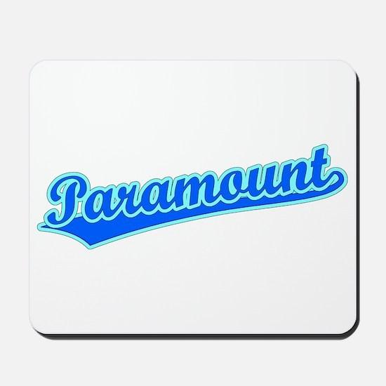 Retro Paramount (Blue) Mousepad