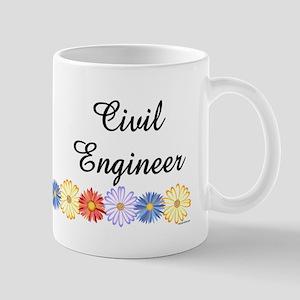 Civil Engineer Asters Mug