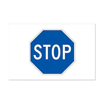 Stop, Hawaii (US) Mini Poster Print