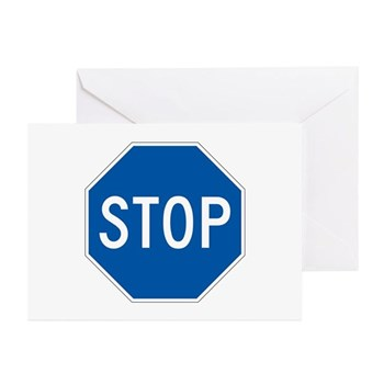 Stop, Hawaii (US) Greeting Cards (Pk of 10)