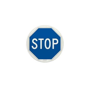 Stop, Hawaii (US) Mini Button (100 pack)