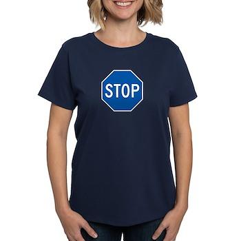 Stop, Hawaii (US) Women's Dark T-Shirt