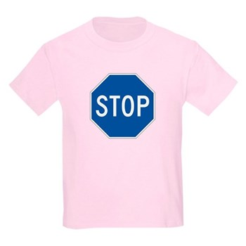 Stop, Hawaii (US) Kids Light T-Shirt