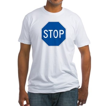 Stop, Hawaii (US) Fitted T-Shirt