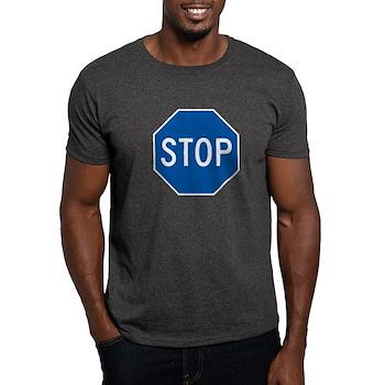 Stop, Hawaii (US) Dark T-Shirt