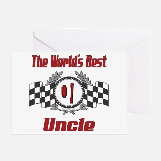 Racing Uncle Greeting Card